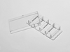 4 Well chambered cover Glass with #1.5 high performance cover glass