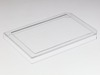 Multi-well plate cover with #1 (0.13-0.16mm) cover glass for DIC (Differential interference contrast) imaging