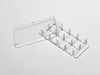 8 Well chambered cover Glass with #1.5 high performance cover glass